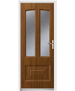 Ultimate Illinois Rockdoor in Light Oak with Gluechip