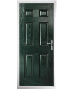 The Hull Composite Door in Green