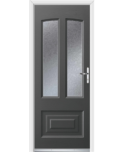 Ultimate Illinois Rockdoor in Slate Grey with Gluechip