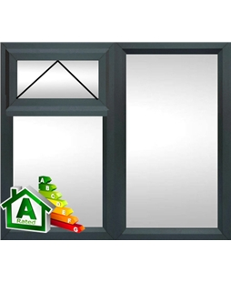 The Bromley uPVC Double / Triple Glazing Windows in  Anthracite Grey