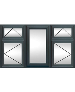 Upvc Double Or Triple Glazing Windows In Anthracite Grey