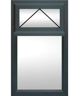 uPVC Double / Triple Glazing Windows in Anthracite Grey