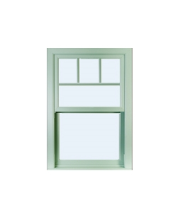 North Yorkshire uPVC Sliding Sash Window in Chartwell Green