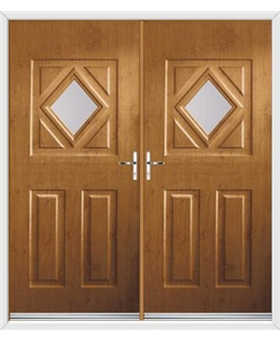 Diamond French Rockdoor