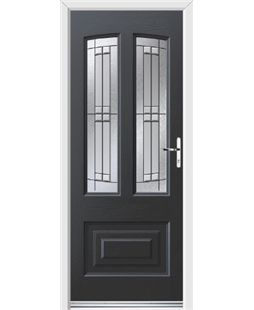 Ultimate Illinois Rockdoor in Anthracite Grey with Empire
