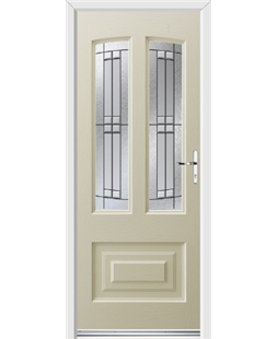 Ultimate Illinois Rockdoor in Cream with Empire