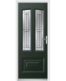 Ultimate Illinois Rockdoor in Emerald Green with Empire
