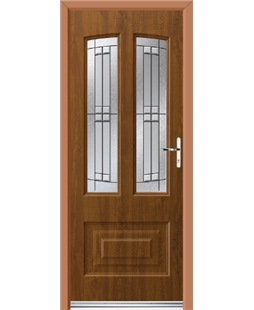 Ultimate Illinois Rockdoor in Light Oak with Empire