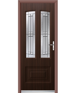 Ultimate Illinois Rockdoor in Mahogany with Empire