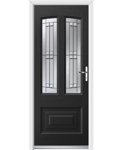 Ultimate Illinois Rockdoor in Onyx Black with Empire