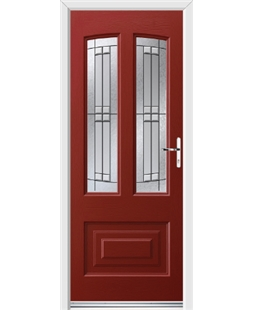 Ultimate Illinois Rockdoor in Ruby Red with Empire