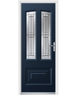 Ultimate Illinois Rockdoor in Sapphire Blue with Empire