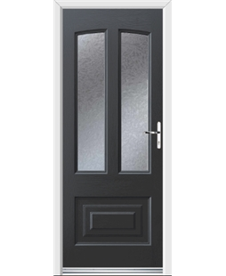 Ultimate Illinois Rockdoor in Anthracite Grey with Gluechip