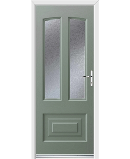 Ultimate Illinois Rockdoor in Chartwell Green with Gluechip
