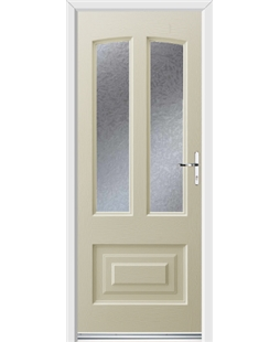 Ultimate Illinois Rockdoor in Cream with Gluechip