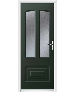 Ultimate Illinois Rockdoor in Emerald Green with Gluechip