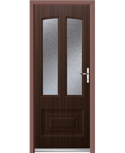 Ultimate Illinois Rockdoor in Mahogany with Gluechip