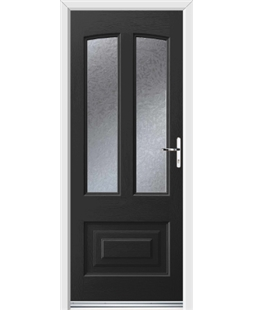 Ultimate Illinois Rockdoor in Onyx Black with Gluechip