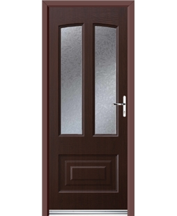 Ultimate Illinois Rockdoor in Rosewood with Gluechip
