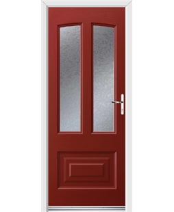 Ultimate Illinois Rockdoor in Ruby Red with Gluechip