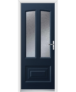 Ultimate Illinois Rockdoor in Sapphire Blue with Gluechip