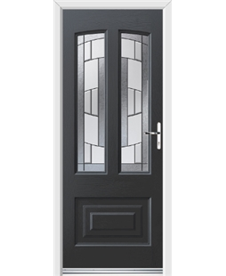 Ultimate Illinois Rockdoor in Anthracite Grey with Inspire