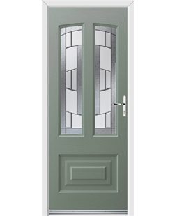 Ultimate Illinois Rockdoor in Chartwell Green with Inspire