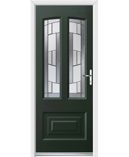 Ultimate Illinois Rockdoor in Emerald Green with Inspire