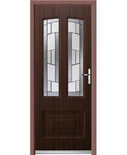 Ultimate Illinois Rockdoor in Mahogany with Inspire