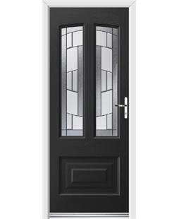 Ultimate Illinois Rockdoor in Onyx Black with Inspire