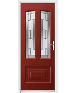 Ultimate Illinois Rockdoor in Ruby Red with Inspire