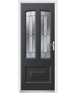 Ultimate Illinois Rockdoor in Anthracite Grey with Pinnacle