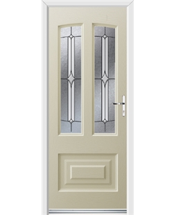 Ultimate Illinois Rockdoor in Cream with Pinnacle