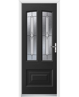 Ultimate Illinois Rockdoor in Onyx Black with Pinnacle