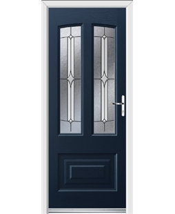Ultimate Illinois Rockdoor in Sapphire Blue with Pinnacle