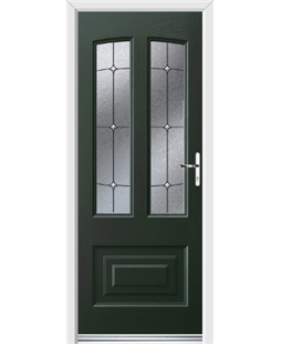 Ultimate Illinois Rockdoor in Emerald Green with Trinity