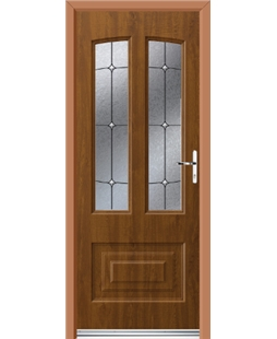 Ultimate Illinois Rockdoor in Light Oak with Trinity