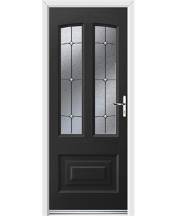 Ultimate Illinois Rockdoor in Onyx Black with Trinity