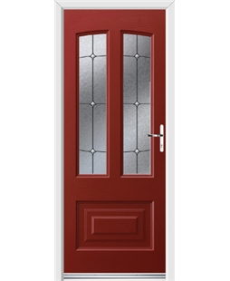 Ultimate Illinois Rockdoor in Ruby Red with Trinity