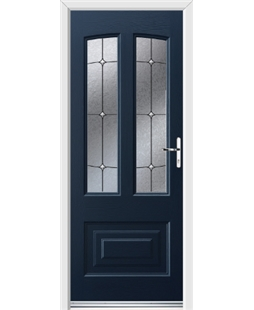 Ultimate Illinois Rockdoor in Sapphire Blue with Trinity