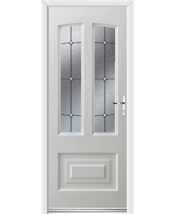 Ultimate Illinois Rockdoor in White with Trinity