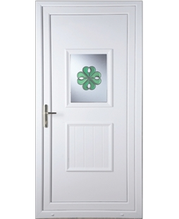 Luton Irish Bevel uPVC Door