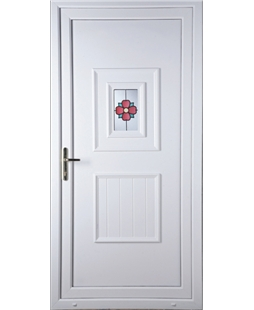 Luton Rosette uPVC High Security Door