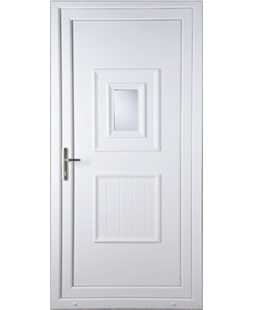 Luton Small Glazed uPVC High Security Door