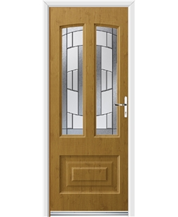 Ultimate Illinois Rockdoor in Irish Oak with Inspire