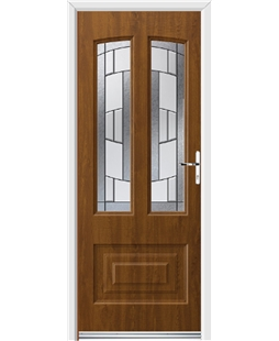 Ultimate Illinois Rockdoor in Light Oak with Inspire