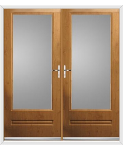 Classic French Rockdoor in Irish Oak with Glazing