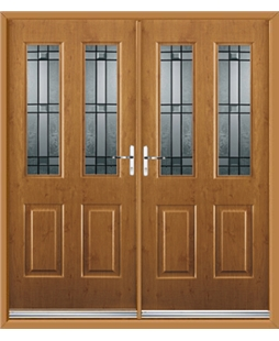 Jacobean French Rockdoor in Irish Oak with Apollo