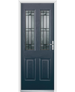 Ultimate Jacobean Rockdoor in Anthracite Grey with Apollo