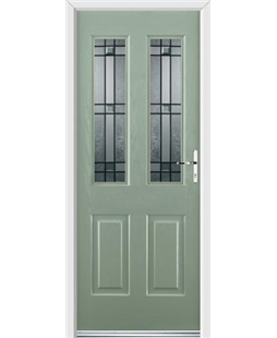 Ultimate Jacobean Rockdoor in Chartwell Green with Apollo